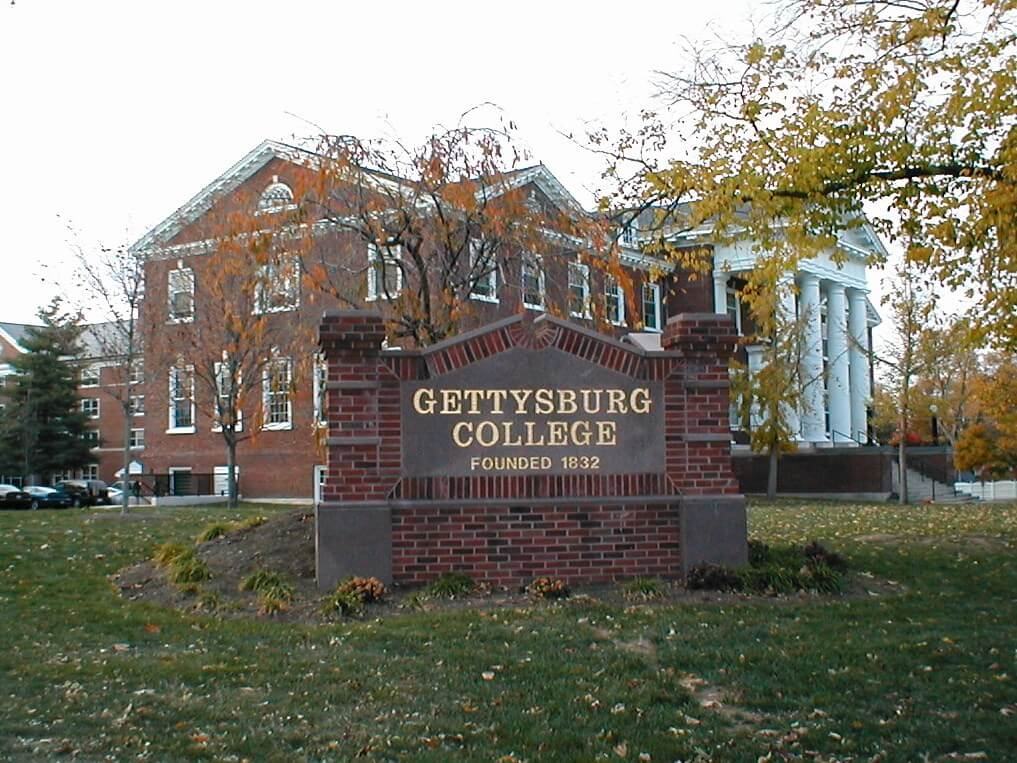 Gettysburg College's history is pretty self explanatory