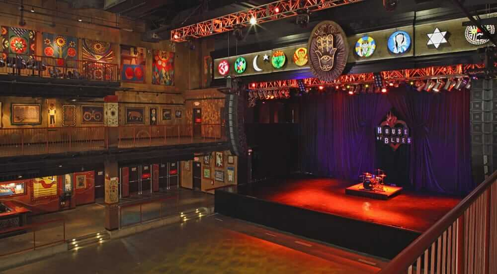 The House of Blues in Boston