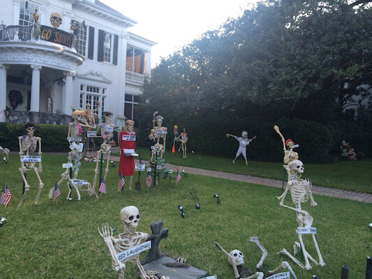 haunted house tour in New Orleans