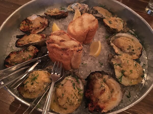 clams from NOLA