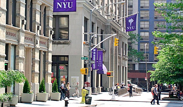 NYU is in the city that never sleeps