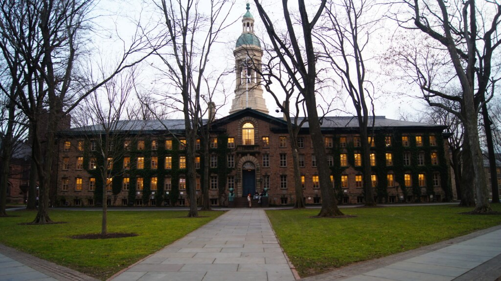 Nassau Hall at Princeton is magical, especially for a history buff