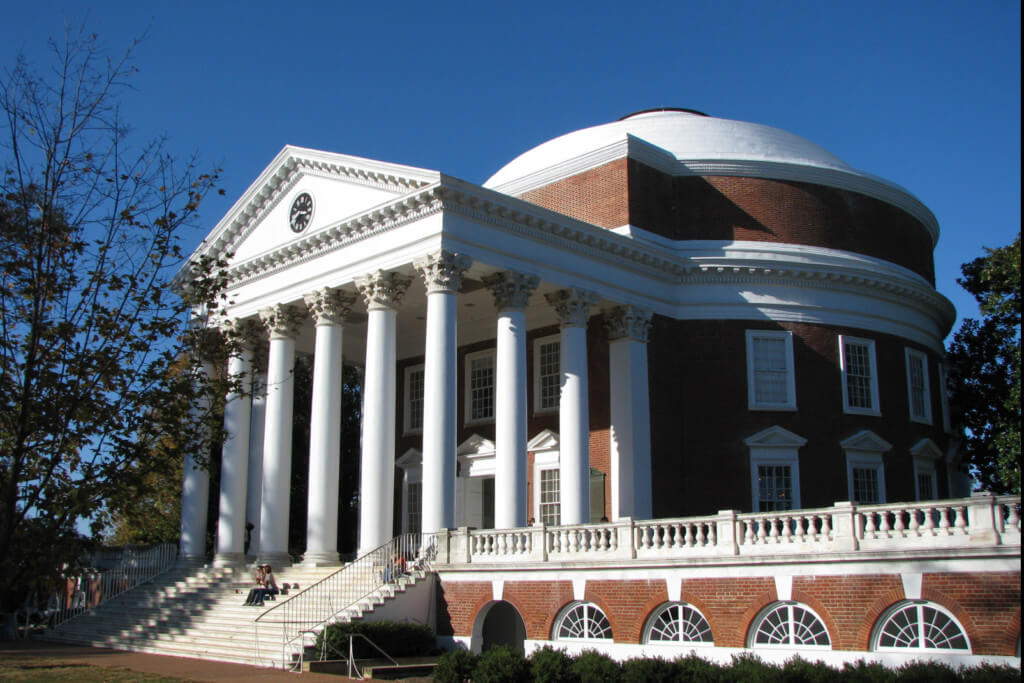 UVA's Rotunda is legendary