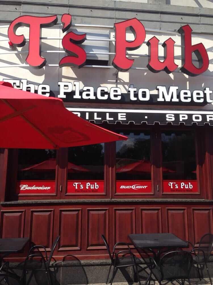 T's Pub in Boston