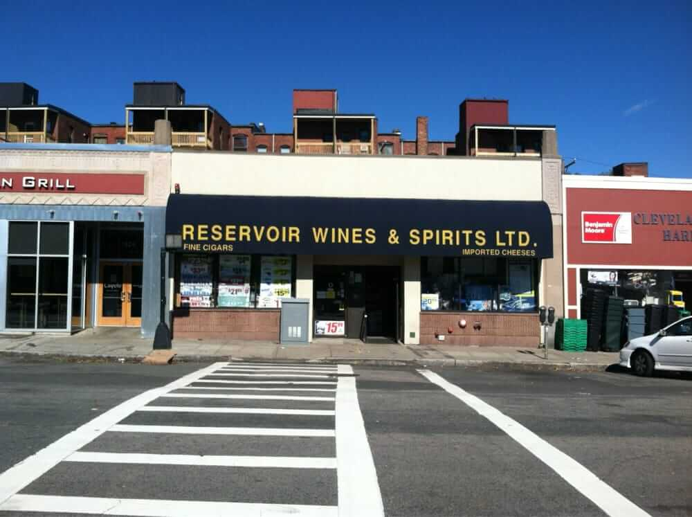 Liquor store in Boston