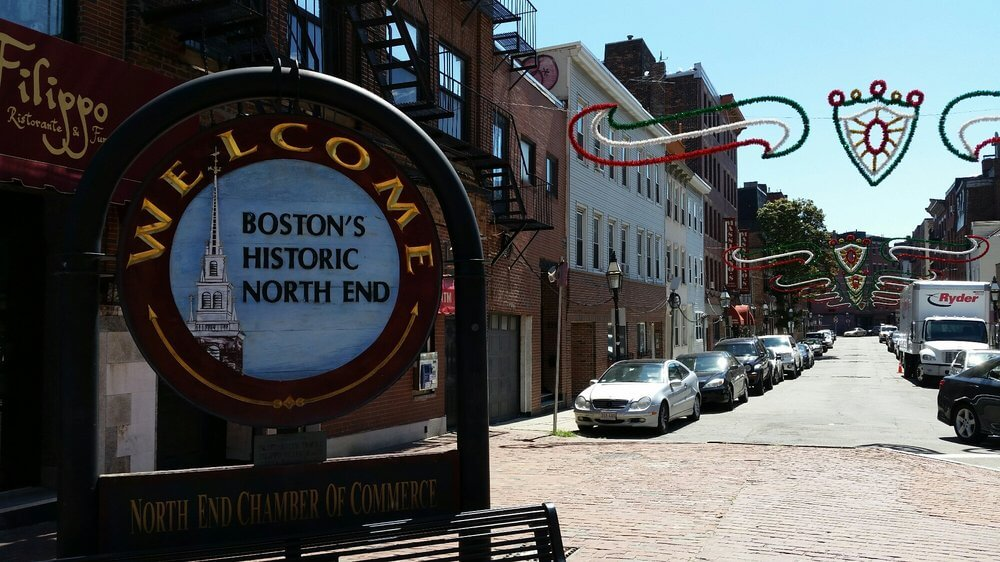 The North End in Boston