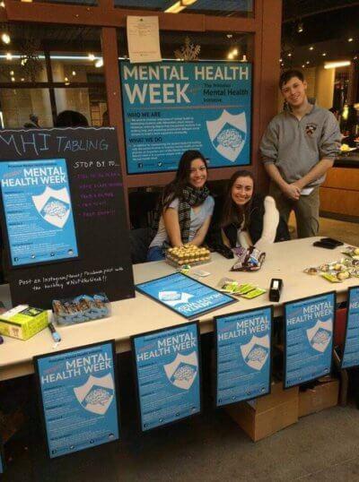 mental health week table