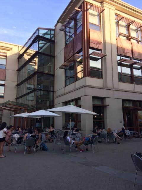 american university study spots