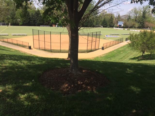 athletic fields near american university