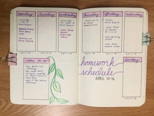 how to start a bullet journal to keep yourself organized
