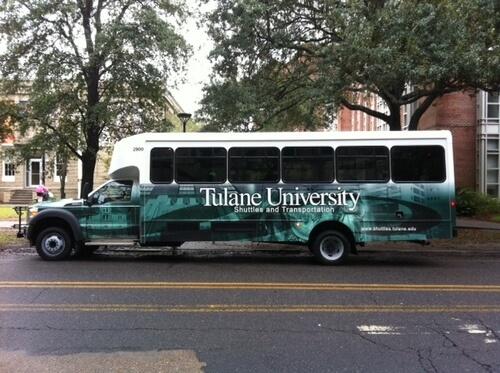 tulane shuttle