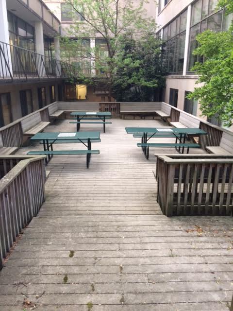 picnic tables american university