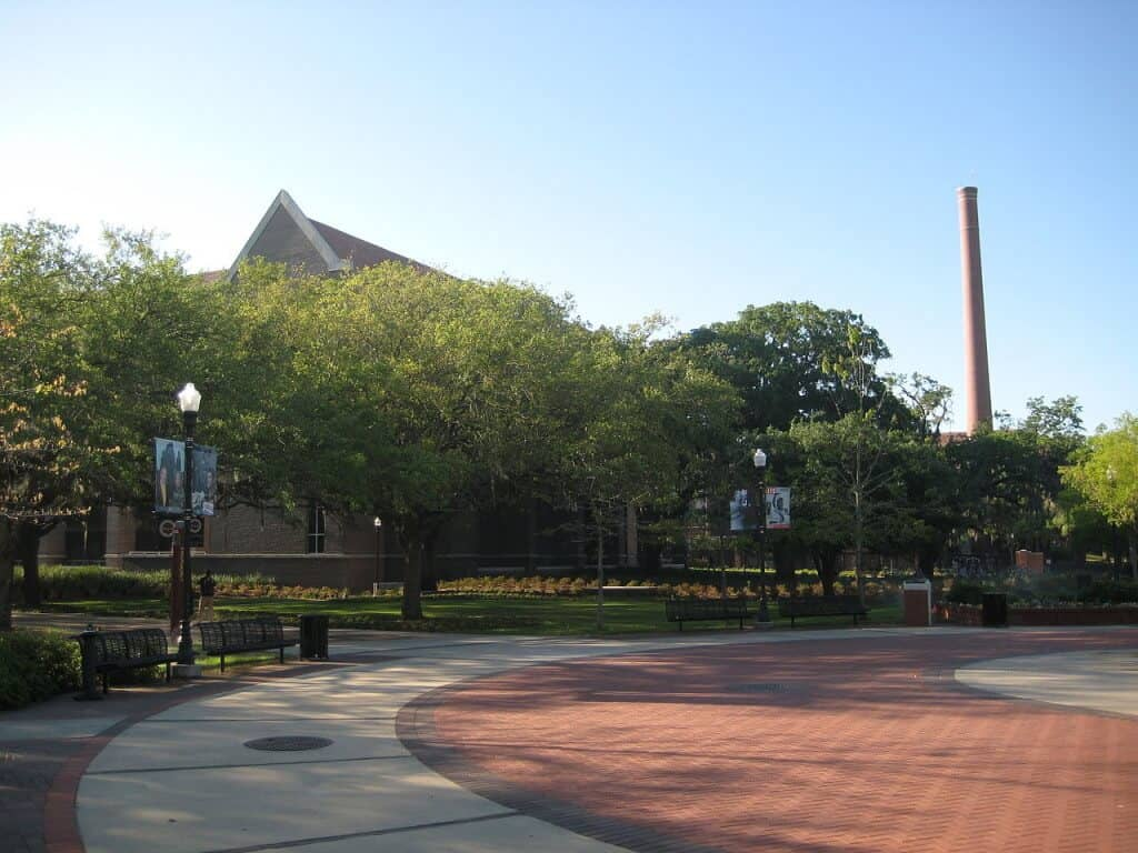 uf fsu campus is beautiful