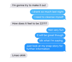 10 funny texts you ll only receive if you re a college student