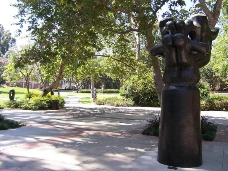 sculpture garden ucla campus