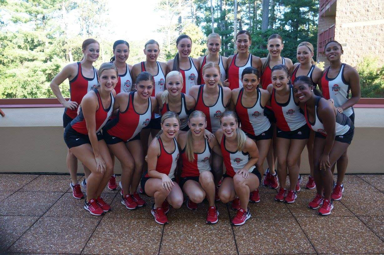 Ohio State University dance team