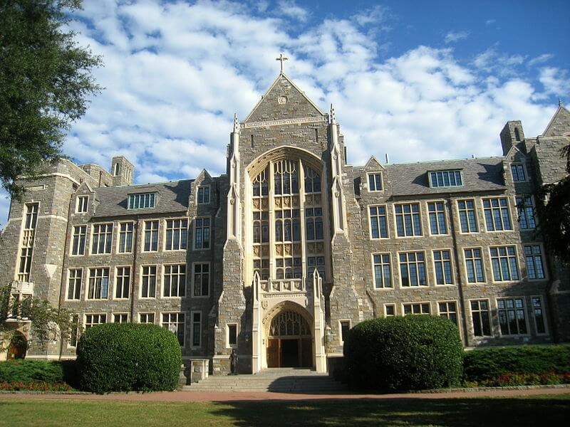 georgetown politically active campuses