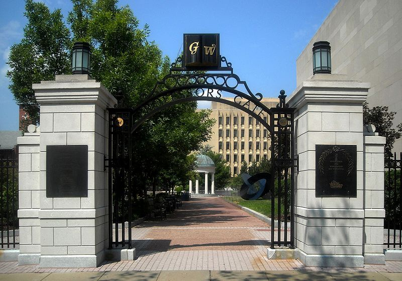 GWU politically active campuses