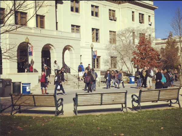 american university politically active
