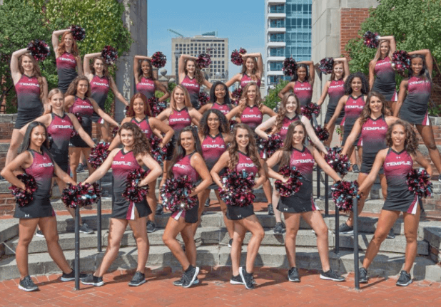 Temple University Diamond Gems Dance Team