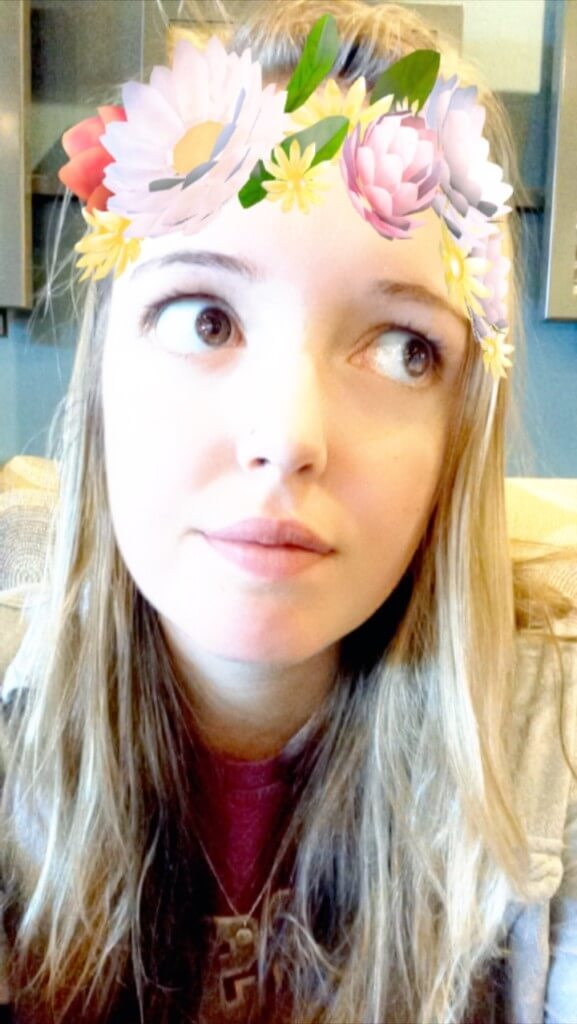 flower crown snapchat filters