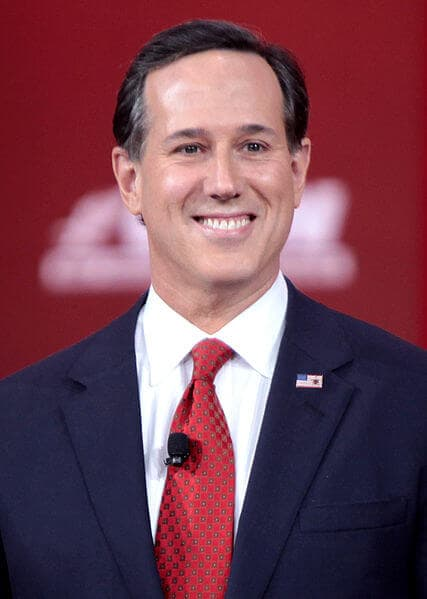 rick santorum penn state notable alumni