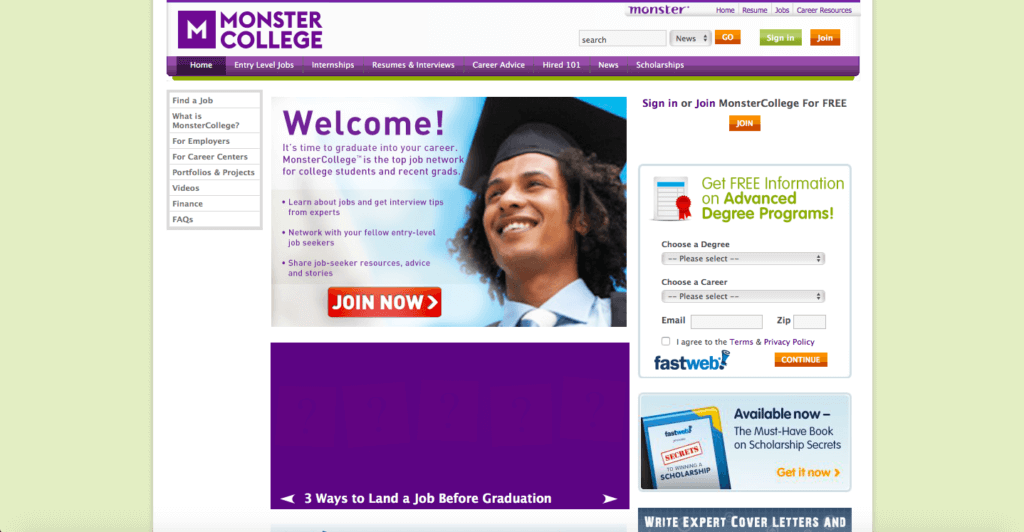 college.monster.com