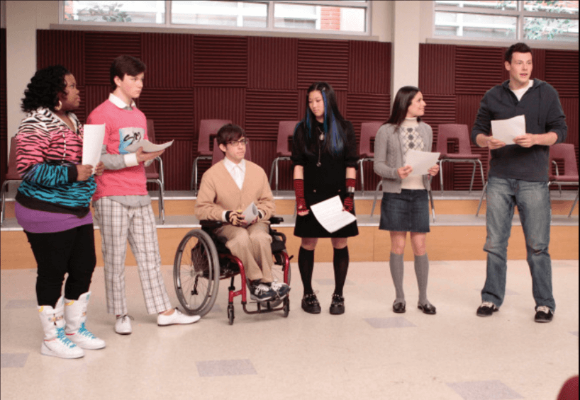Glee students with disabilities