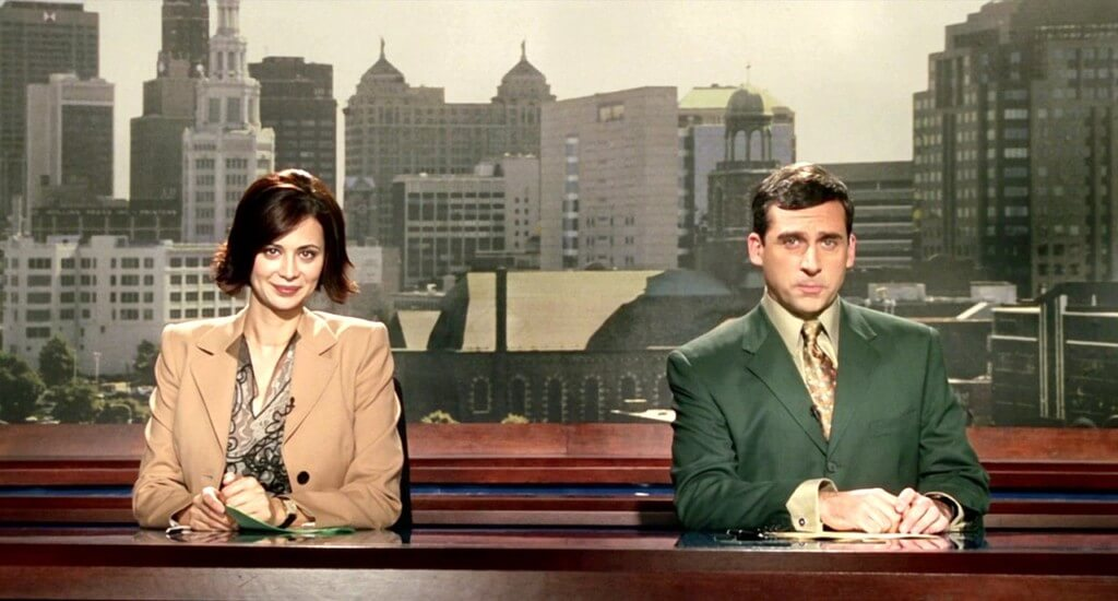 Bruce Almighty broadcast journalism