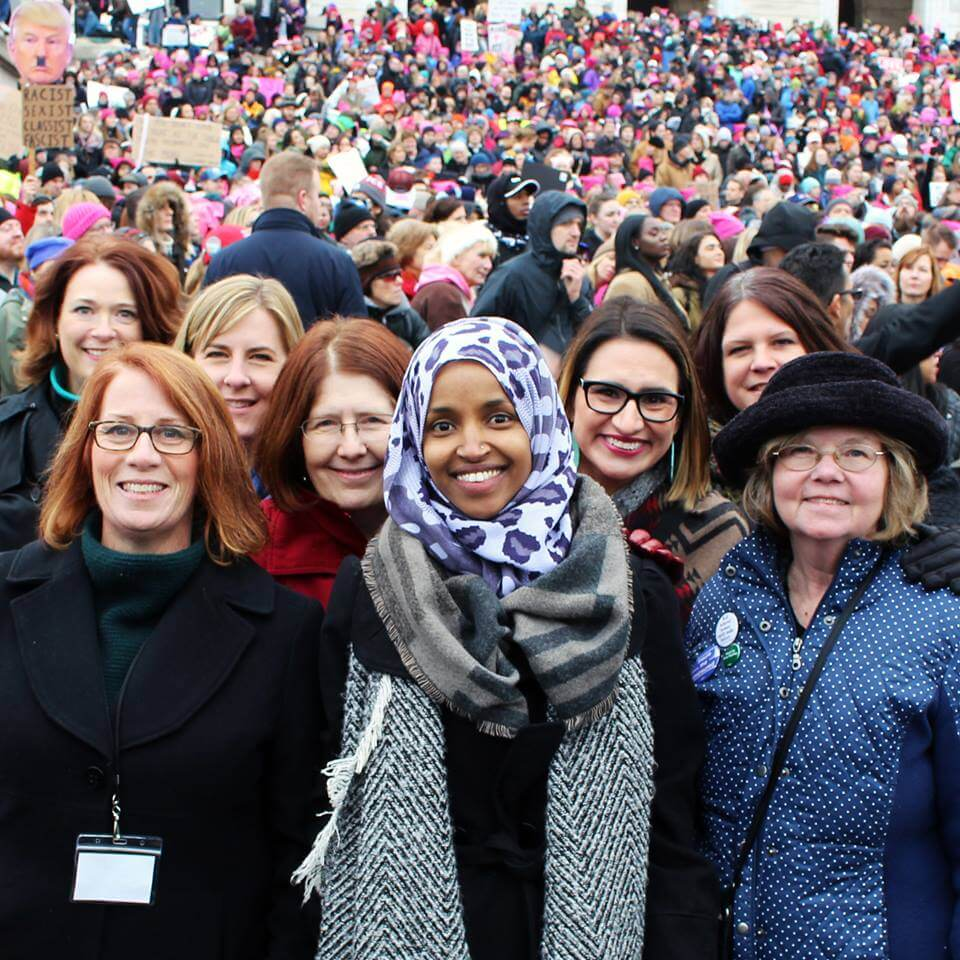 powerful woman leader ilhan omar