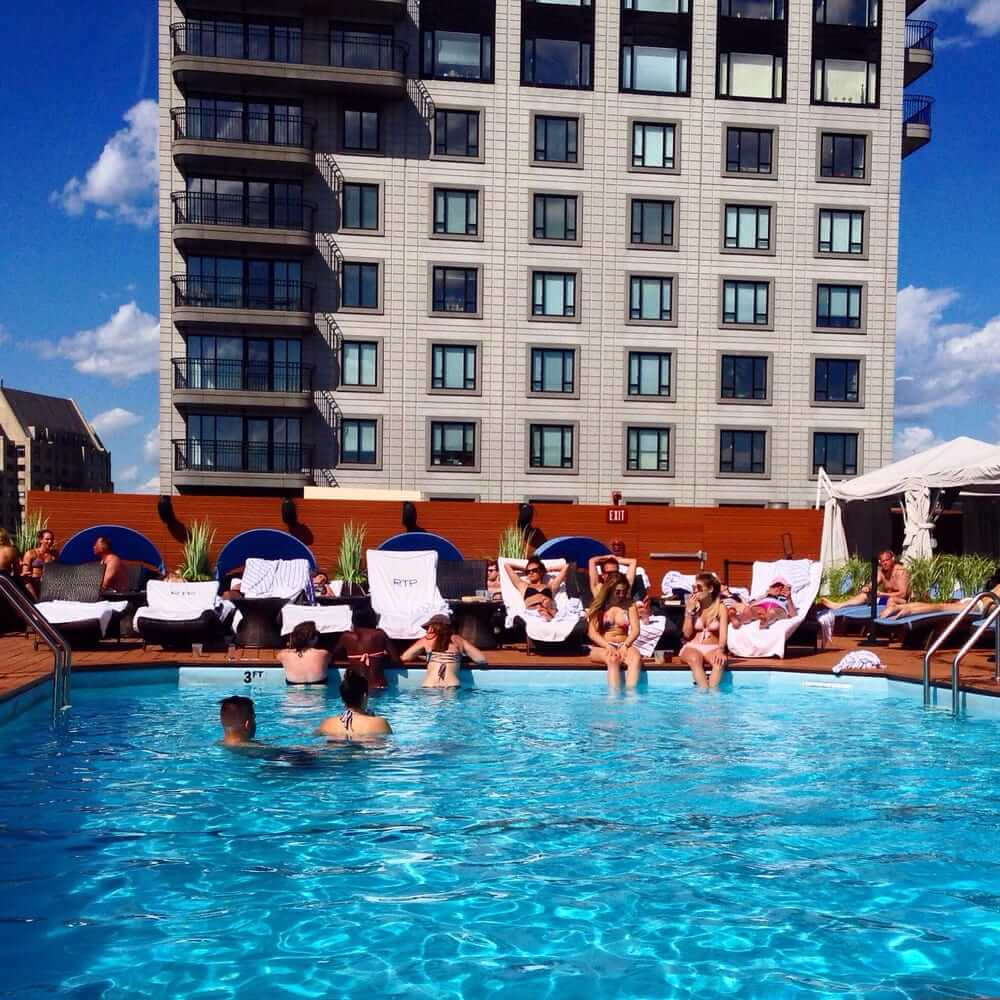 Colonnade Rooftop Pool Boston