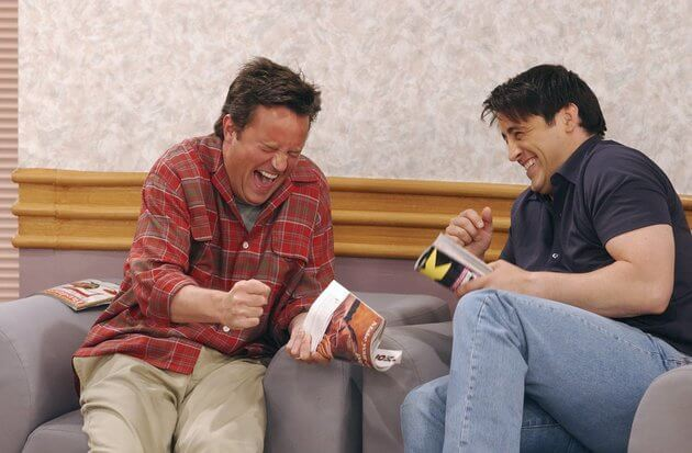 friends joey and chandler