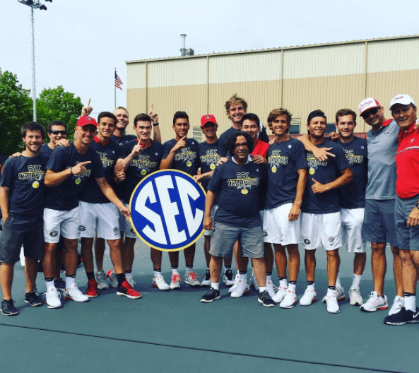 georgia men's tennis players