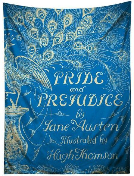 pride and prejudice tapestry