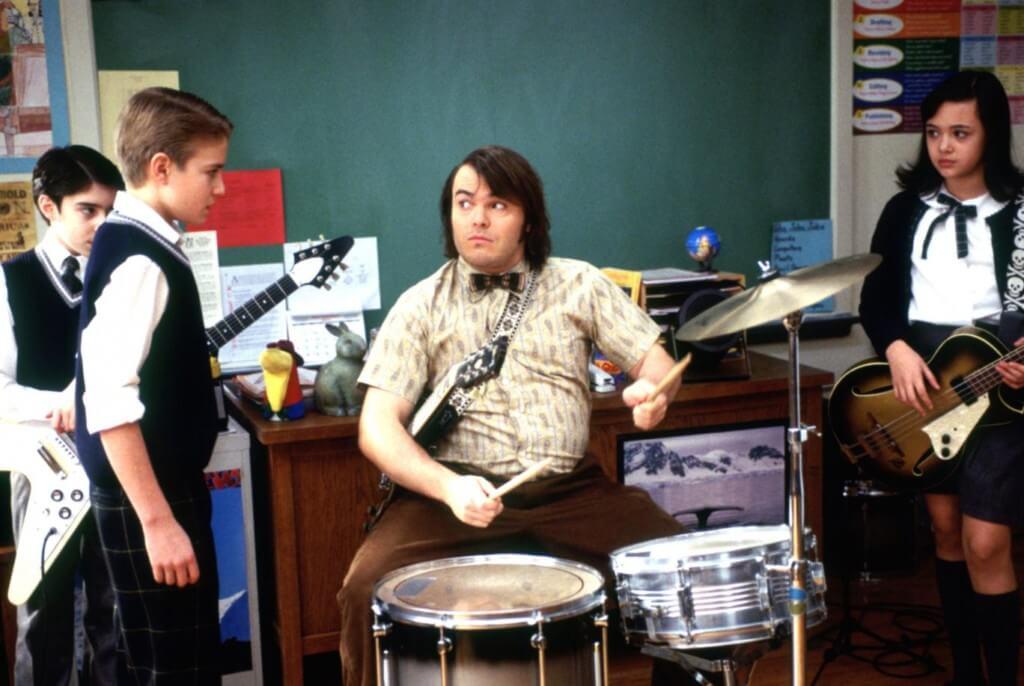 school of rock music education