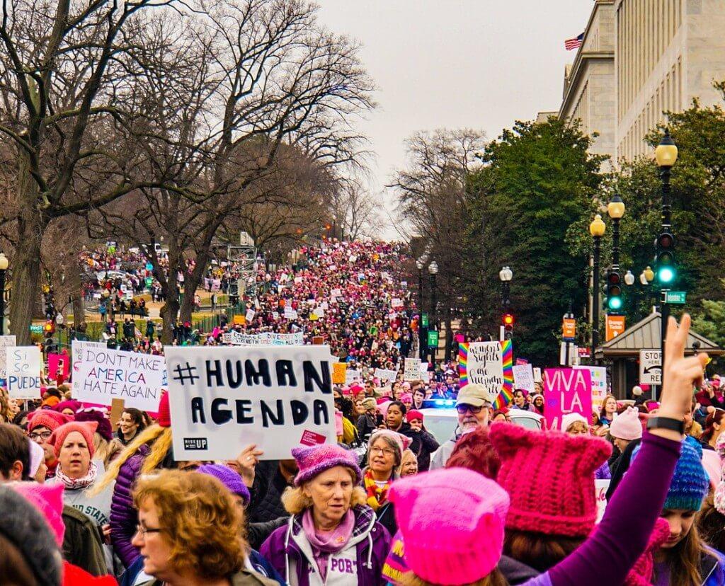 50 by 2050 women's march