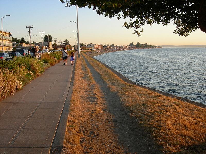 alki beach seattle