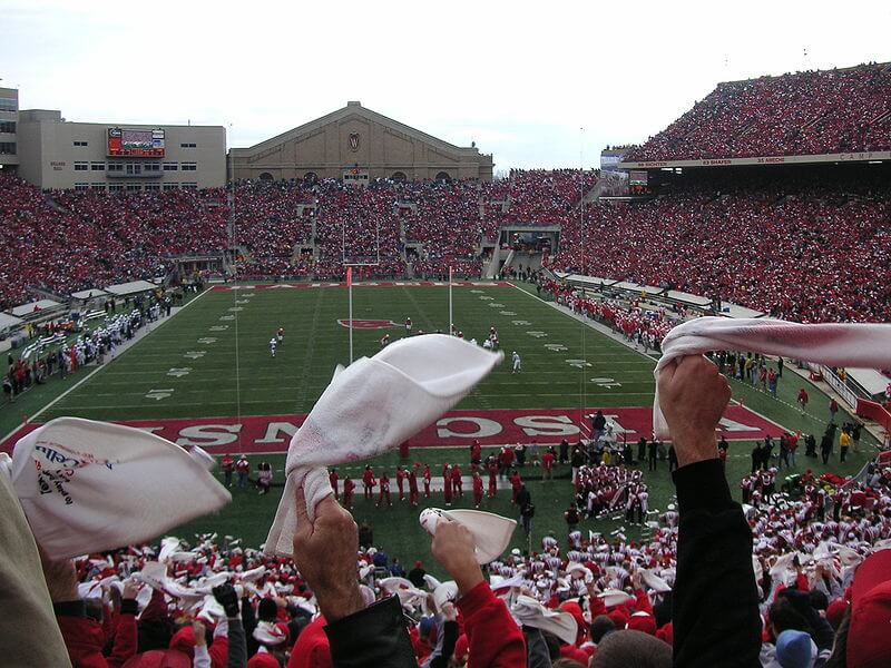camp randall uw madison