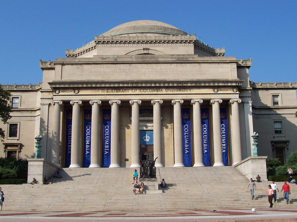 best colleges for extroverts Columbia