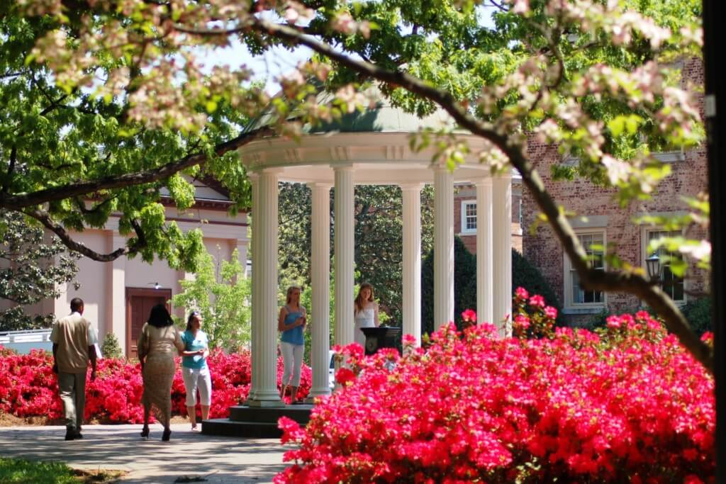 UNC Chapel Hill best colleges for extroverts