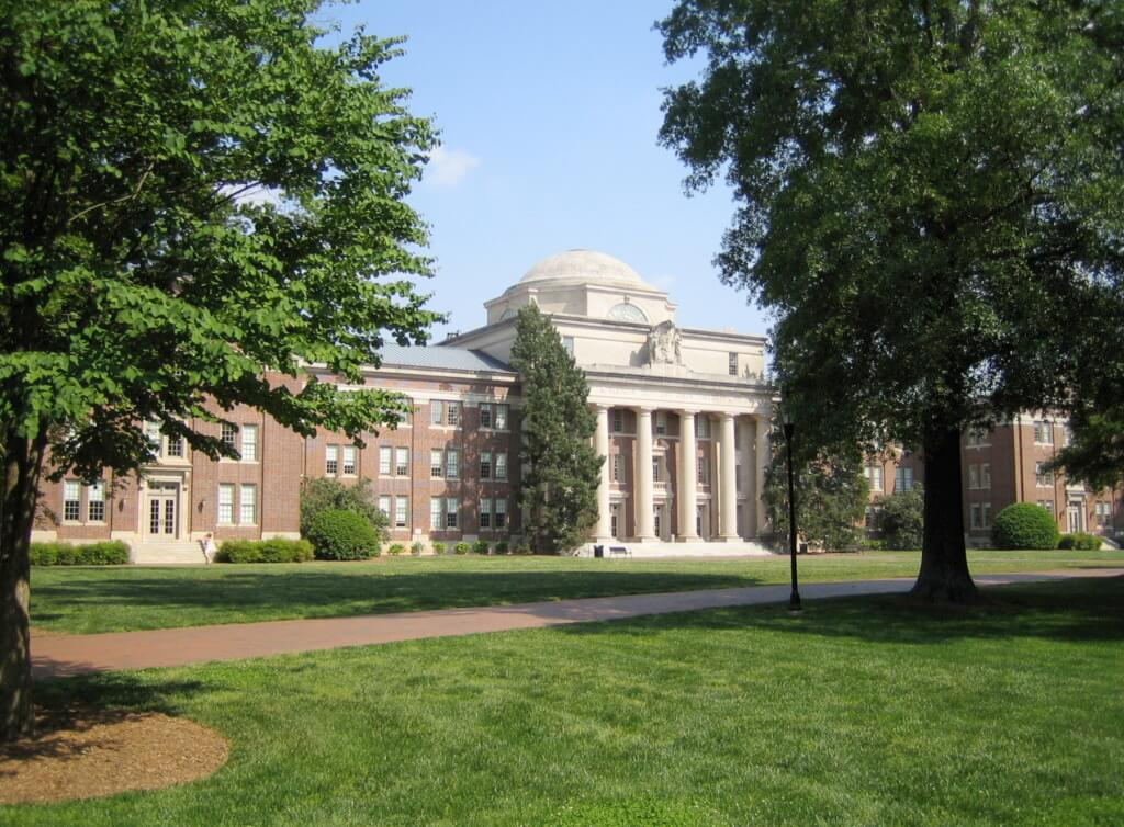 Davidson College best colleges for extroverts