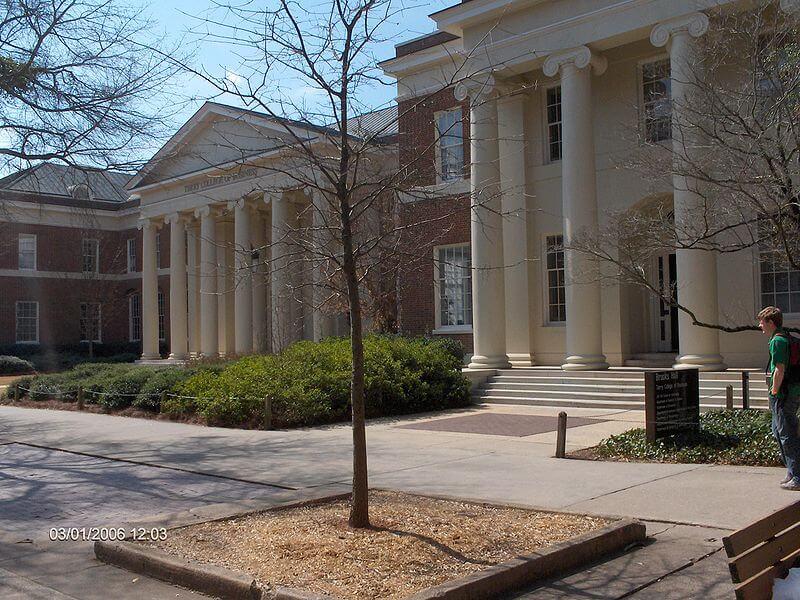 UGA campus brooks hall