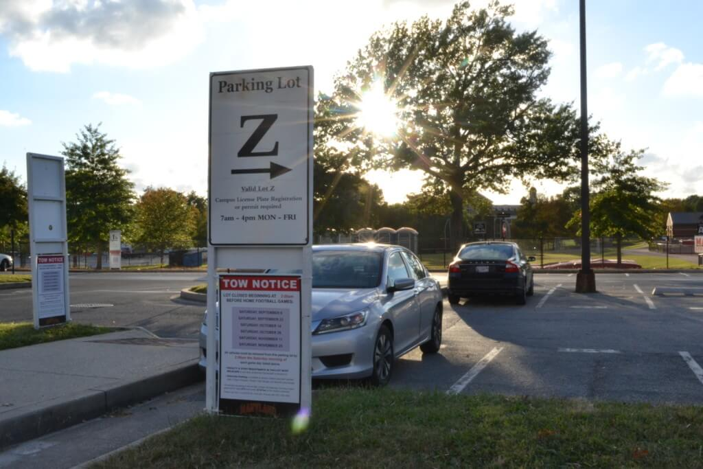 Lot 1 and Lot Z UMD Parking