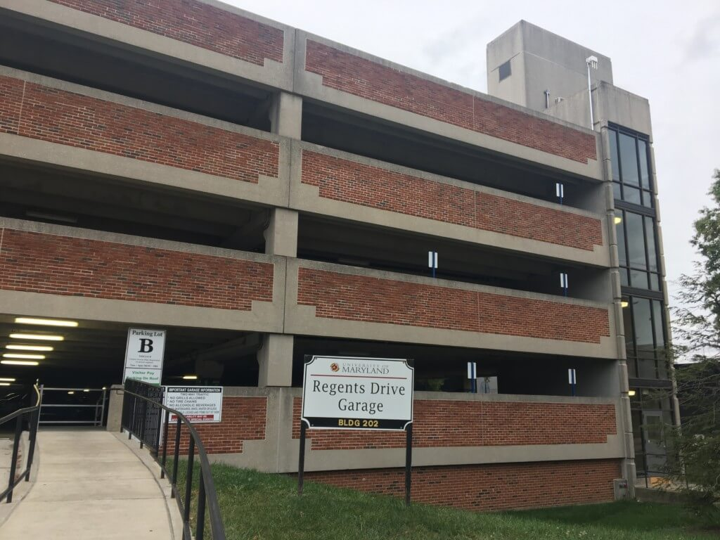Regents Garage UMD Parking