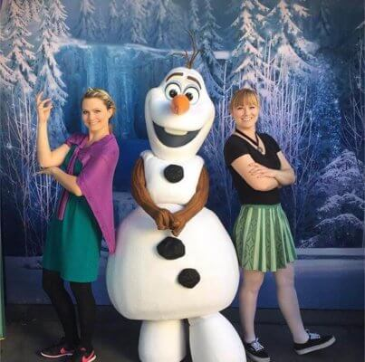 anna and elsa disney bound