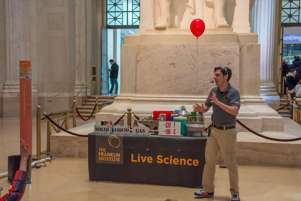Science After Hours at Franklin Institute