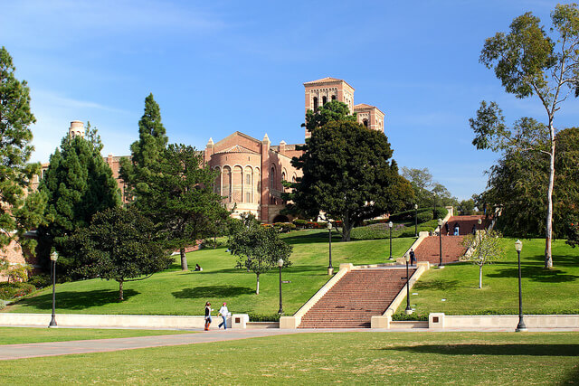 UCLA janss steps