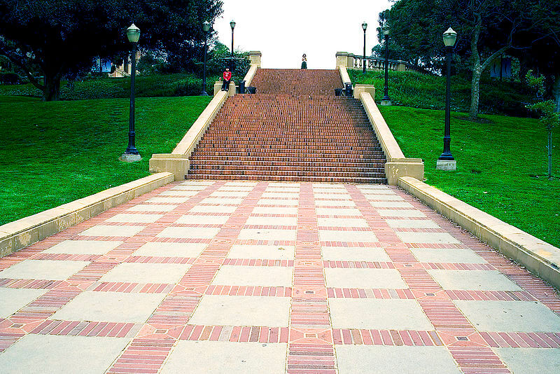 janss steps UCLA