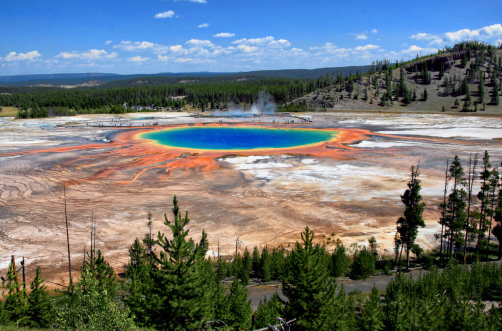 Yellowstone Caldera in Yellowstone