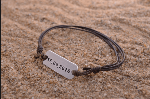 Personalized Bracelet Gifts For College Guys